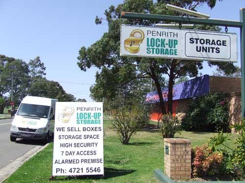 Penrith Lock Up Storage
