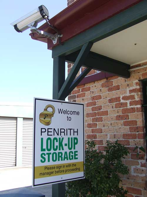 Penrith Lock Up Storage Security Cameras
